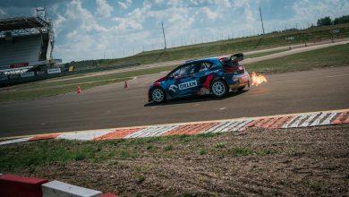 Photo of Mistrzostwa Polski w Rallycrossie 2020. Podium Kuby Przygońskiego