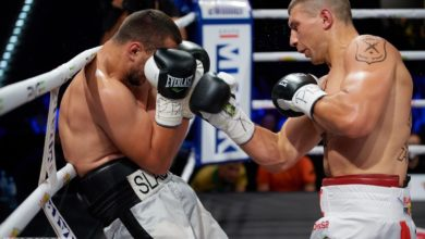 """Photo of Knockout Boxing Night 12. Andrzej Gołota na gali. """"Stricz"""" pokonał pokonał """"Bestię ze Wschodu"""""""
