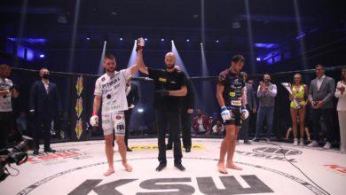 Photo of Gala KSW 54. Mateusz Gamrot obronił tytuł mistrzowski. Izu Ugonoch pokonał Quentina Domingosa [ZDJĘCIA]