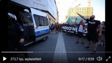 Photo of Zatrzymany za propagowanie faszyzmu i nawoływanie do nienawiści [WIDEO]
