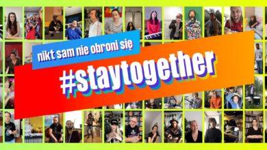Photo of #StayTogether – Odpowiedzialni Razem! Prawie 80 polskich artystów! Niesamowita piosenka [KLIP]
