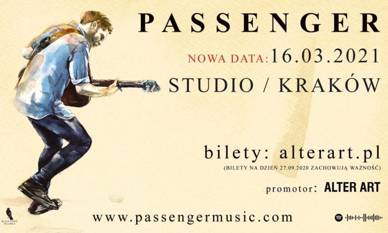 Photo of Passenger z nową datą koncertu w Polsce