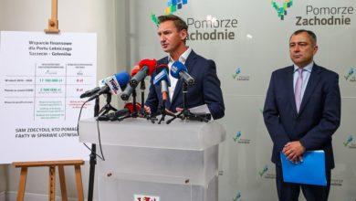 Photo of Awantura o Port Lotniczy Szczecin. Marszałek Geblewicz: od 2016 roku rząd PiS przeznaczył na to lotnisko zero złotych