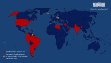 Photo of Polska. Przedłużenie zakazu w międzynarodowym ruchu lotniczym. 28 krajów – ZEA zostały wyłączone z listy