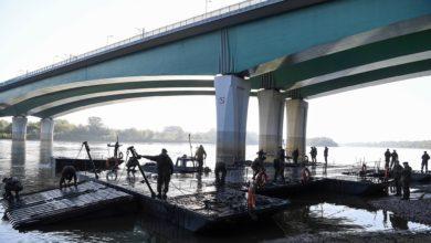 Photo of Ruszyła budowa mostu pontonowego na Wiśle. Błaszczak: mamy do czynienia z katastrofą ekologiczną