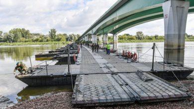 Photo of Awaria Czajki. Most pontonowy na Wiśle jest już skończony. Śmierć ryb?