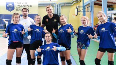 Photo of Glinka Academy. Siatkarskie spotkanie z dwukrotną mistrzynią Europy