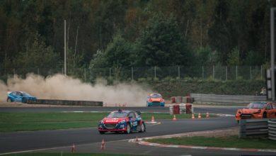 Photo of Deszczowa runda Mistrzostw Polski w Rallycrossie. Przygoński na podium