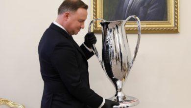 Photo of Triumfatorzy Pucharu Polski z wizytą u prezydenta Andrzeja Dudy