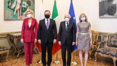 Photo of Andrzej Duda z wizytą w Rzymie. Spotkał się z włoskimi politykami