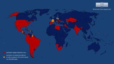Photo of Oficjalnie. Zakaz lotów do Polski. Malta na nowej liście krajów. Furtka dla biur podróży