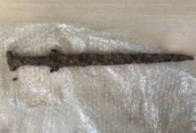 Photo of Pomorskie. Miecz z epoki brązu i inne artefakty odzyskane przez policję