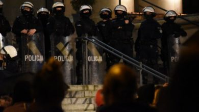 Photo of Strajk kobiet. Policjanci brutalnie pobili jednego z zatrzymanych