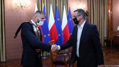Photo of MMA. Mistrz UFC Jan Błachowicz z wizytą u premiera Morawieckiego