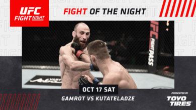 Photo of MMA. UFC Abu Zabi. Mateusz Gamrot przegrał w swoim debiucie. Kontrowersyjna porażka!