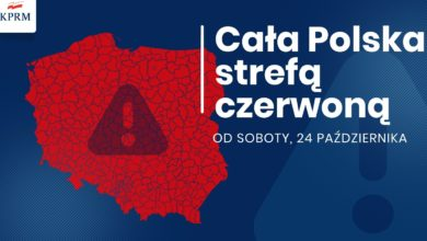 Photo of Koronawirus. Cała Polska strefą czerwoną! Szkoły w trybie zdalnym, seniorzy w domach i zamknięte puby