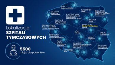 Photo of Koronawirus w Polsce: zarażonych ponad 20 tys. osób, 301 zmarło. Szpital Narodowy otwarty