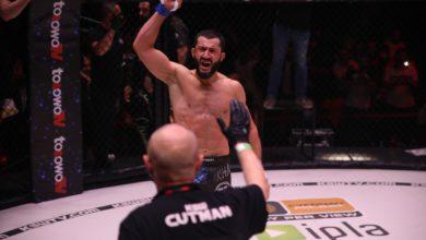 Photo of MMA. Gala KSW 55 w Łodzi. Mamed Khalidov znokautował Scotta Askhama. Wyniki [ZDJĘCIA]