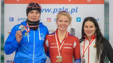 Photo of Mistrzostwa Polski na dystansach w łyżwiarstwie szybkim. Karolina Bosiek z trzema złotymi medalami