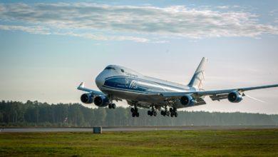 Photo of Pandemia – dostawa sprzętu medycznego. Samoloty Jumbo Jet Boeing 747 i An-124 Rusłan wylądowały na katowickim i rzeszowskim lotnisku