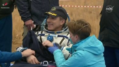 Photo of Astronauta NASA Chris Cassidy i członkowie załogi bezpiecznie wylądowali na Ziemi