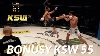 Photo of Bonusy po gali KSW 55 i najlepsze momenty. Mamed Khalidov z najbardziej efektownym nokautem w historii [WIDEO]