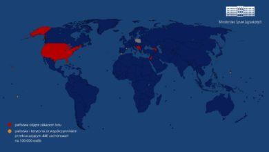 Photo of Międzynarodowy ruch lotniczy w Polsce. Lista państw i terytoriów objętych zakazem lotu