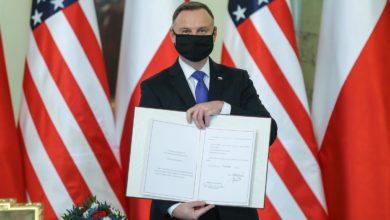 Photo of Pałac Prezydencki. Polsko-amerykańskiej umowa o wzmocnionej współpracy obronnej ratyfikowana