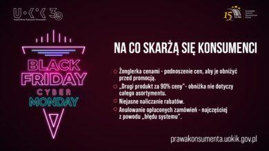 Photo of Black Friday, Cyber Monday. Ruszyły wyprzedaże! Konsumencie – nie daj się oszukać!