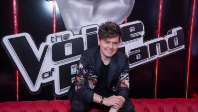 "Photo of Michael Patrick Kelly, Ala Tracz i Ania Dąbrowska na scenie ""The Voice of Poland"" [WIDEO]"