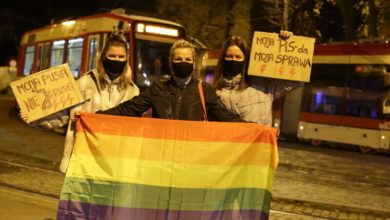 """Photo of Strajk Kobiet. Manifestacja w Gdańsku. """"Moja pusia, nie Jarusia"""""""
