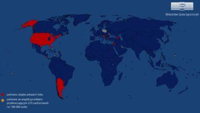 Photo of Przedłużenie zakazu w międzynarodowym ruchu lotniczym. Na nowej liście mniej krajów