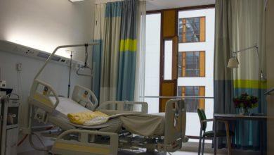 Photo of Szpital w Łodzi. Podłączony do tlenu pacjent zapalił papierosa. Wybuchł pożar