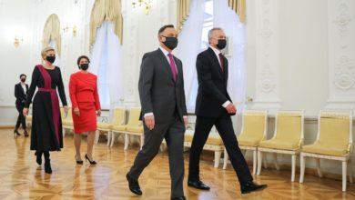 Photo of Wilno. Wizyta prezydenta Dudy na Litwie. Powołano Radę Prezydencką