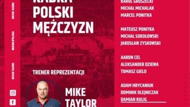 Photo of El. EuroBasket 2022. Mike Taylor wybrał zawodników na mecze kadry w Hiszpanii
