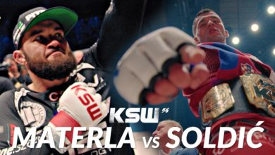 Photo of MMA. Gala KSW 56: Michał Materla vs Roberto Soldić – Trailer