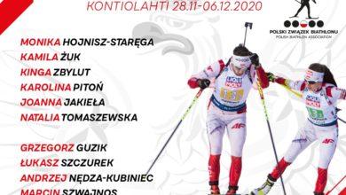 Photo of Skład reprezentacji Polski na biathlonowy Puchar Świata w Kontiolahti