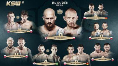 Photo of MMA. Wyniki ważenia przed galą KSW 57 [WIDEO]