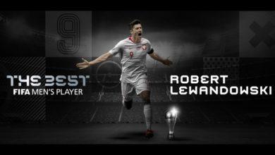 Photo of Robert Lewandowski najlepszym piłkarzem 2020 na świecie!