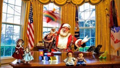 """Photo of The NEW Bardots. Piosenka świąteczna inspirowana pandemią i wyborami w USA """"If Santa Claus Were President"""""""