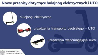 Photo of Nowe przepisy dot. hulajnóg elektrycznych i urządzeń transportu osobistego
