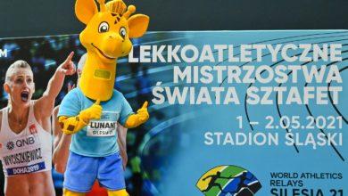 Photo of Mistrzostwa świata sztafet World Athletics Relays Silesia21. Gwiazdy na Stadionie Śląskim
