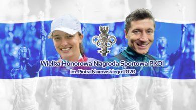 Photo of Noworoczne Spotkanie Rodziny Olimpijskiej 2021. Iga Świątek i Robert Lewandowski sportowcami 2020 roku