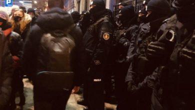 Photo of Strajk Kobiet. Policja jak ZOMO! Użyła gazu wobec protestujących i obmacują dziewczynę