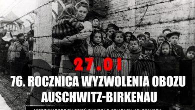 Photo of Międzynarodowy Dzień Pamięci o Ofiarach Holokaustu. 76. rocznica wyzwolenia obozu Auschwitz-Birkenau