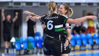 Photo of EHF European League. MKS Perła Lublin pokonał Handball Club Lada. Biało-zielone liderkami grupy