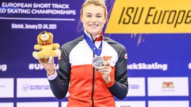 Photo of Natalia Maliszewska wicemistrzynią Europy w short tracku