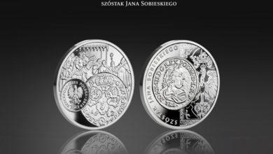 """Photo of Srebrna moneta NBP Szóstak Jana Sobieskiego nagrodzona w międzynarodowym konkursie """"Coin Constellation 2020"""""""
