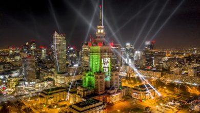 Photo of Sylwestrowa niespodzianka w stolicy. Rozświetlony Pałac Kultury i Nauki