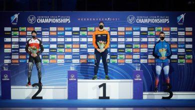 Photo of Wielobojowe mistrzostwa Europy w łyżwiarstwie szybkim. Artur Nogal piąty wśród sprinterów